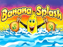Бездепозитный бонус в автомате Banana Splash