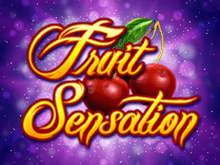 Бездепозитный бонус в автомате Fruit Sensation
